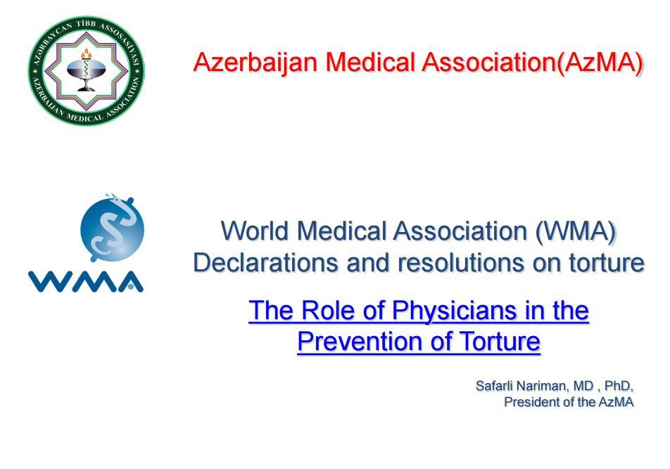WMA torture presentation 2016